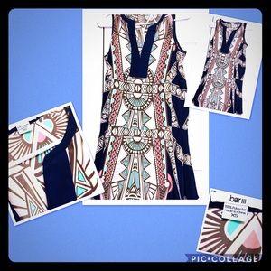 XS Bar III Aztec Print Dress